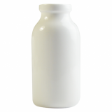 Orion Mini Porcelain Milk Bottle (130ml) White Porcelain