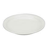 Orion Narrow Rim Plate (16cm/6.5 Inches) - White Porcelain