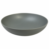 Ston Grey Porcelain - Round Bowl (16.5cm)