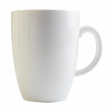 Orion Bellied Mug 400ml (14oz) - White Porcelain