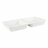 Orion Burger Box - White Porcelain
