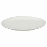 Orion Coupe Oval Platter (25cm) - White Porcelain