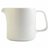 Orion Milk Jug - White Porcelain (285ml)