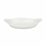 Orion Oval Eared Dish (22.5cm) - White Porcelain