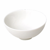 Orion Rice Bowl (13cm) - White Porcelain