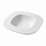 Orion Square Pasta Bowl (25.5cm) - White Porcelain