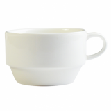 Orion Stacking Cup  (195ml) - White Porcelain