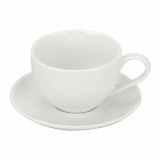 Orion Tea Saucer (14.5cm) - White Porcelain