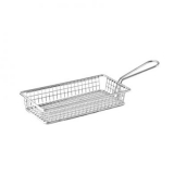 Mini Fry Basket Rectangular Stainless Steel (215 x 105 x 35mm)