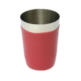 Vinyl Coated Stainless Steel Cup (Red)