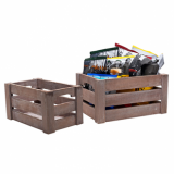 Wooden Crate - Paulownia (Medium)