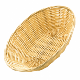 Basket - Oval Shape (Poly-Rattan) 18cm x 13cm