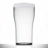 Polycarbonate - Tulip 2-PINT Glass (1136ml/40oz) CE Marked WITH LID