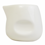 Orion White Porcelain Mini Milk Pinch Tot (55ml/2oz) - Single