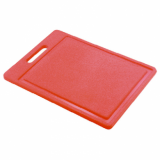 Food Prep Chopping Board - Red (35cm x 25cm)