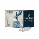 Soda Sparklets CO2 Cartridges (Pack of 10) - Pro Fizz