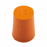 Rubber Bung (Base Dia 15mm)