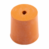 Rubber Bung (Base Dia 29mm) WITH HOLE