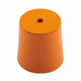 Rubber Bung (Base Dia 31mm) WITH HOLE