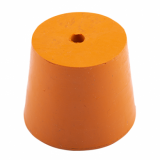 Rubber Bung (Base Dia 40mm) WITH HOLE