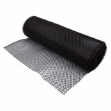 Bar Mesh Shelf Liner (61cm x 10m roll) - Black