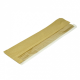 Bio Compostable Side Window Baguette Bags (4x6x16 inch) Pack of 25