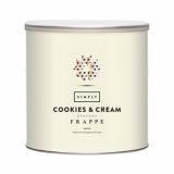 Frappe Mix - Simply Cookies & Cream (1.75kg Tin)