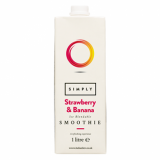Smoothie Mix - Simply Strawberry and Banana (1L)