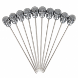 Skull Garnish Picks (Zinc) - Pack of 10
