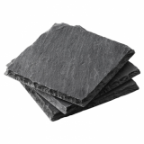 Slate Coasters - Pack of 4 (10cm x 10cm)
