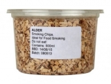 Wood Chips for Smoking - Alder (500ml / Approx 140g)