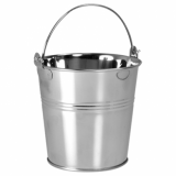 Presentation Bucket - Stainless Steel (Small) 70 x 55 x 50mm