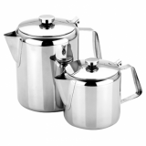 Stainless Steel Teapot (1 Litre / 32fl oz) OVER STOCK OFFER PRICE!!