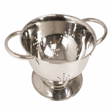 Small Colander - Stainless Steel (140mm Diameter)