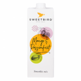 Sweetbird Smoothie Mix - Mango & Passionfruit (1 Litre)