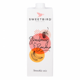 Sweetbird Smoothie Mix - Strawberry & Banana (1 Litre) BBD 8/20