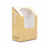 Bio Compostable Tortilla/Wrap Carton (Pack of 25)