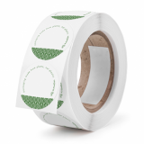 Vegware Compostable Labels / Stickers (Roll of 1000)