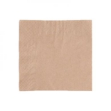 Recycled Napkins 24cm 2-Ply Unbleached (Pack of 250)
