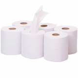Centrefeed Roll 2-Ply 125m (Pack of 6 Rolls) - WHITE