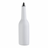 White Plastic Flair Bottle (750ml) - Practise your Flair!