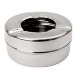 Windproof Ashtray Stainless Steel - Small (84mm Diameter)