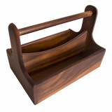 Wooden Presentation Caddy (25cm x 16cm x 18cm)