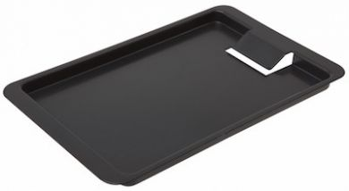 Tip Tray with Clip (Black Plastic)