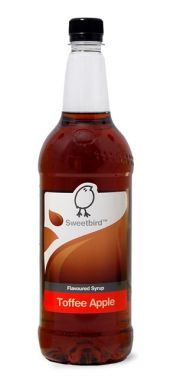 Sweetbird - Toffee Apple Syrup (1 Litre) Note: Curdles Milk