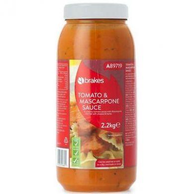 Tomato and Mascarpone Sauce (2.2kg) - Brakes