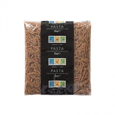 Triple Lion - Wholemeal Penne Pasta (3kg)