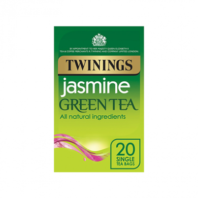 Twinings - Jasmine Green Tea Bags (40g) - Pk of 20