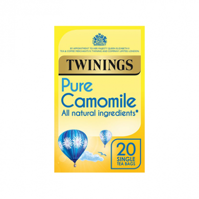 Twinings - Pure Camomile Tea Bags (30g) - Pk of 20