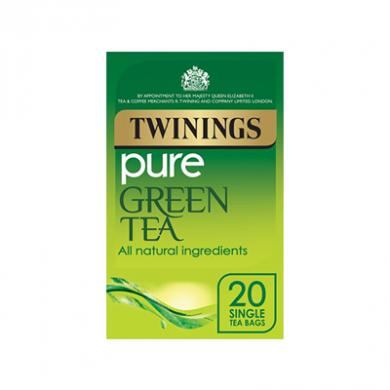 Twinings - Pure Green Tea Bags (50g) - Pk of 20